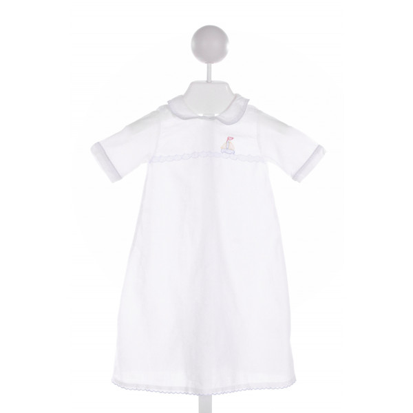 FANCY THREADS  WHITE   EMBROIDERED LAYETTE