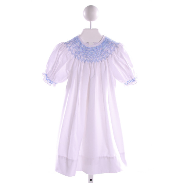 SWEET DREAMS  MULTI-COLOR   SMOCKED DRESS WITH RUFFLE