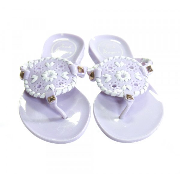 JACK ROGERS LILAC PURPLE SANDALS *SIZE TODDLER 9, EUC