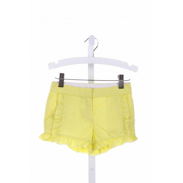 CREWCUTS FACTORY  BRIGHT YELLOW    SHORTS WITH RUFFLE