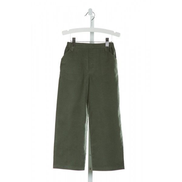 BELLA BLISS  GREEN CORDUROY   PANTS