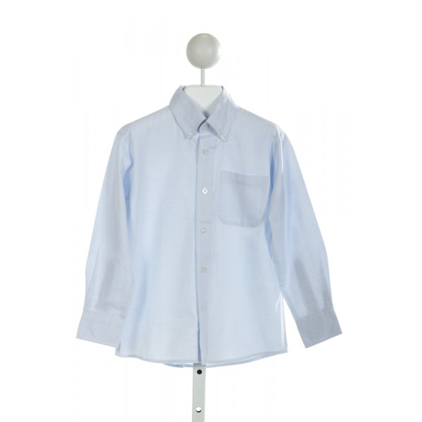 BELLA BLISS  LT BLUE    CLOTH LS SHIRT