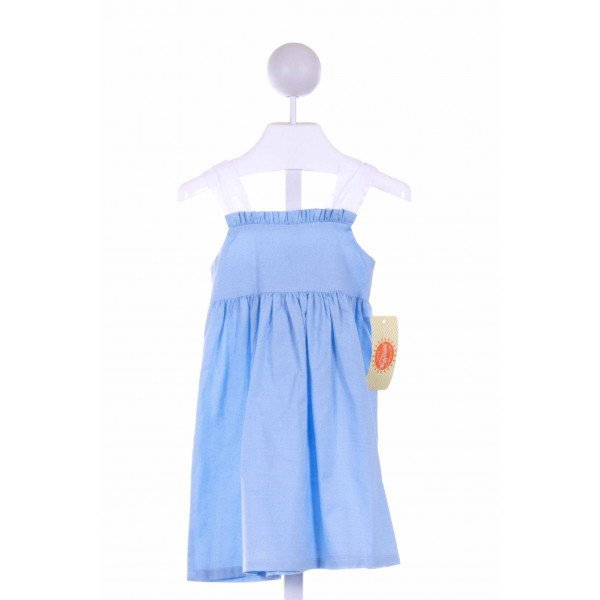 SOUTHERN SUNSHINE KIDS  BLUE  POLKA DOT  CASUAL DRESS