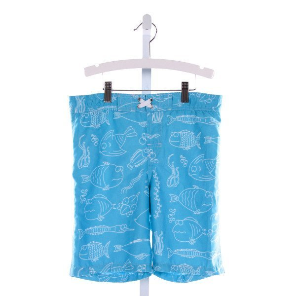 NANO  AQUA  PRINT  SWIM TRUNKS