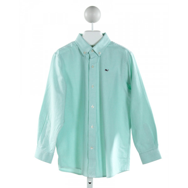 VINEYARD VINES  MINT    CLOTH LS SHIRT