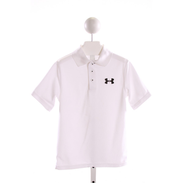 UNDER ARMOUR  WHITE    CLOTH SS SHIRT