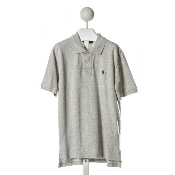 POLO BY RALPH LAUREN  GRAY    CLOTH SS SHIRT