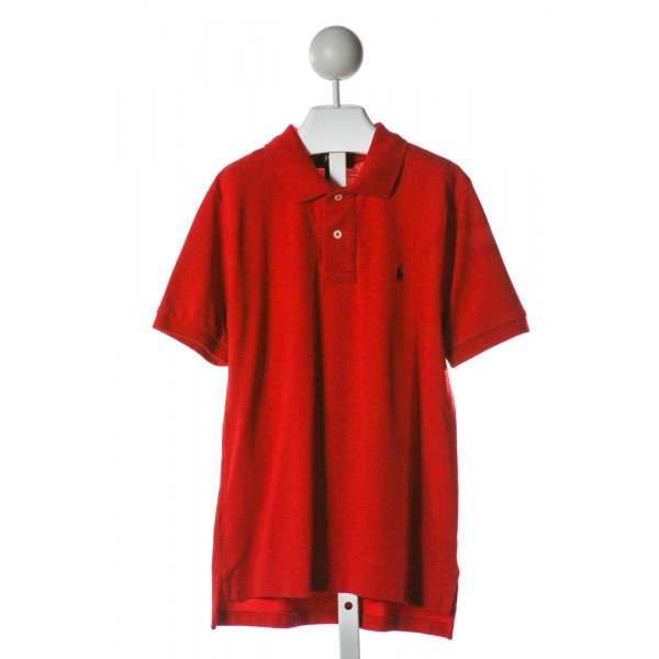 POLO BY RALPH LAUREN  RED    CLOTH SS SHIRT