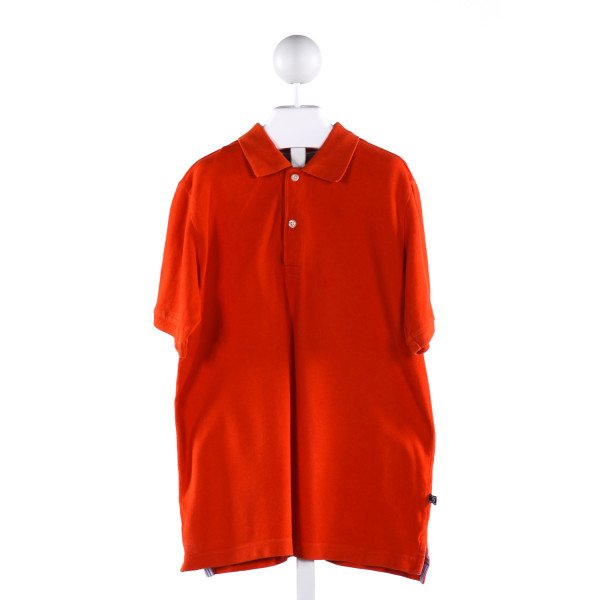 E-LAND  ORANGE    CLOTH SS SHIRT