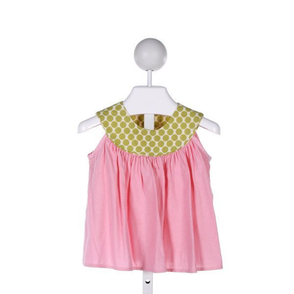 HOLLYWOOD BABY  MULTI-COLOR  POLKA DOT  CLOTH SS SHIRT
