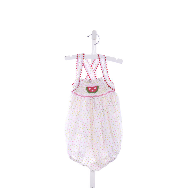 THE TRAVELIN TRUNK  MULTI-COLOR   SMOCKED BUBBLE