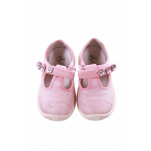 NATURINO PINK SPARKLY SHOES *VGUC (LIGHT WEAR) *EU SIZE 21=5.5