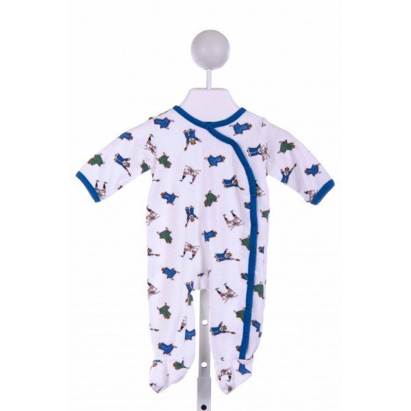 UNDER THE NILE  WHITE  PRINT  LAYETTE