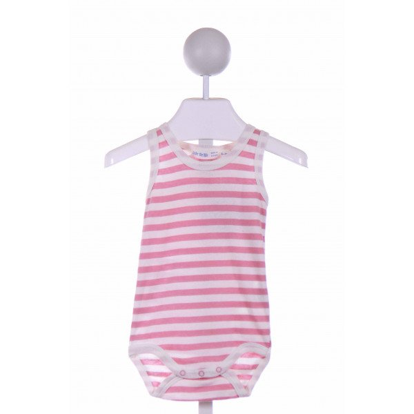 UNDER THE NILE  PINK  STRIPED  LAYETTE