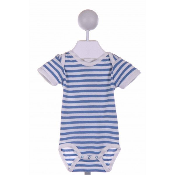 UNDER THE NILE  BLUE  STRIPED  LAYETTE