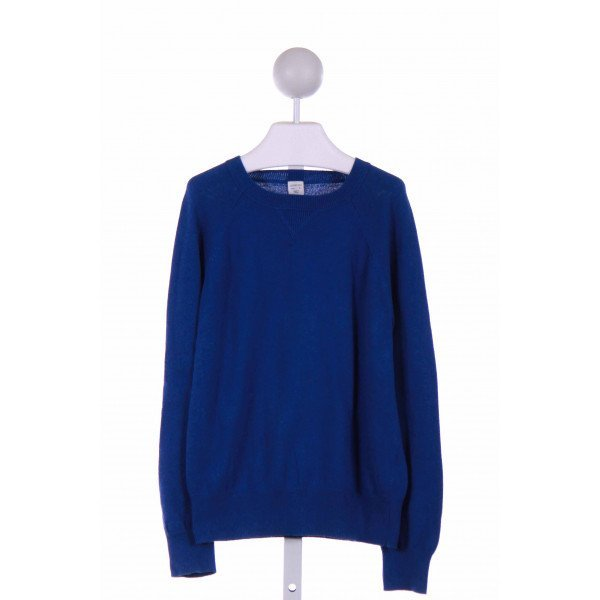 CREWCUTS  ROYAL BLUE    SWEATER