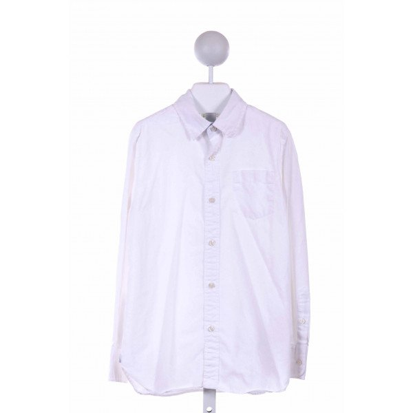 CREWCUTS  WHITE    DRESS SHIRT