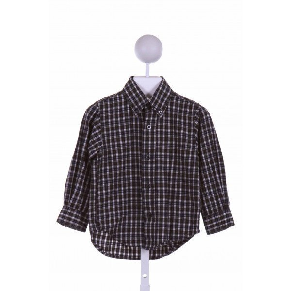 KITESTRINGS  GREEN  PLAID  DRESS SHIRT