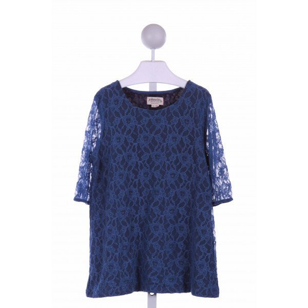 JOHNNIE-B  BLUE LACE   CASUAL DRESS