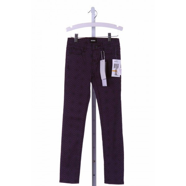 HUDSON  PURPLE    PANTS