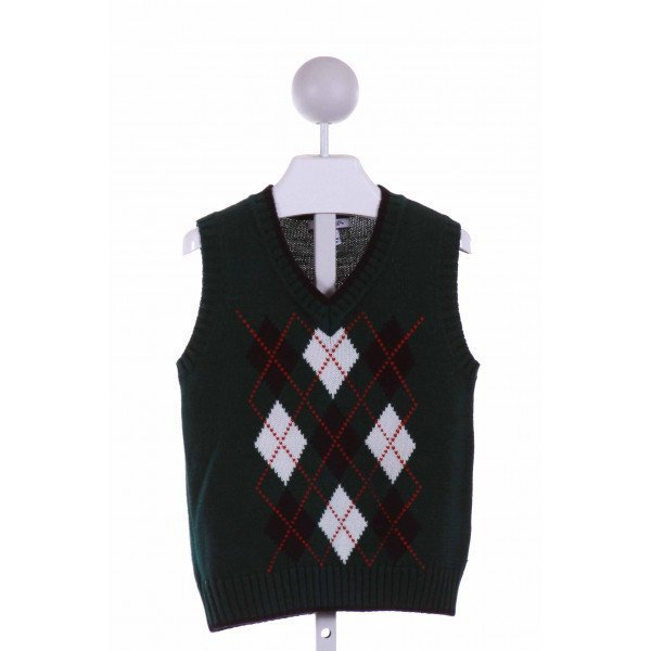KITESTRINGS  GREEN    SWEATER VEST
