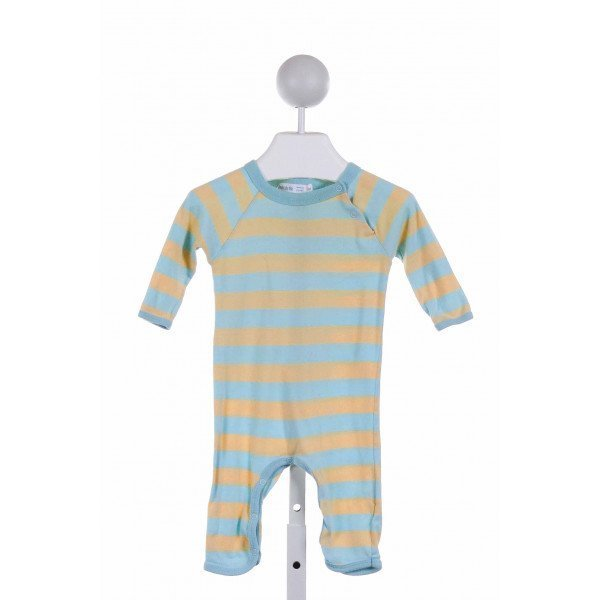 UNDER THE NILE  YELLOW  STRIPED  LAYETTE