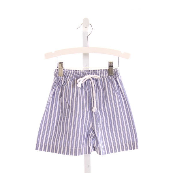 ZUCCINI  LT BLUE  STRIPED  SWIM TRUNKS