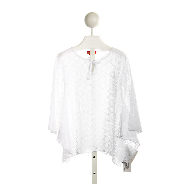 KATE MACK WHITE EYELET SWIM COVER UP
