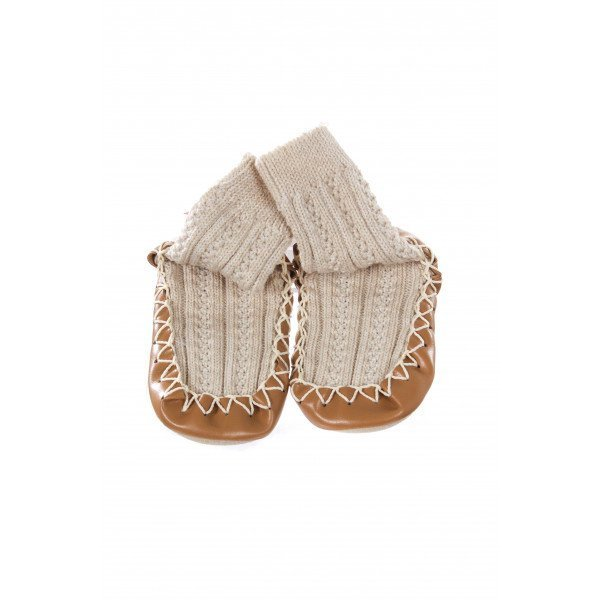 HANNA ANDERSSON SWEDISH SLIPPER MOCCASINS INFANT SIZE 1
