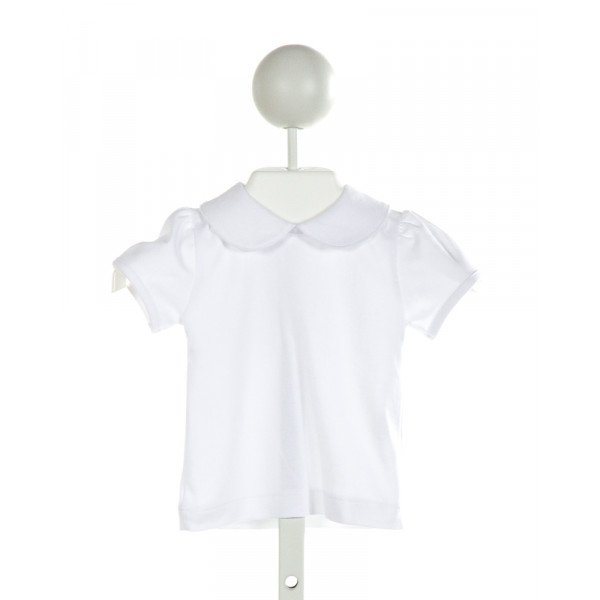 BAMBINOS  WHITE    KNIT SS SHIRT