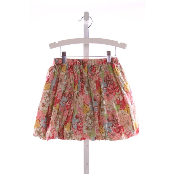 ALICE KATHLEEN  MULTI-COLOR  FLORAL  SKIRT