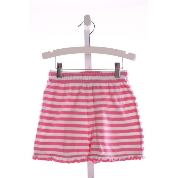 RAGSLAND  LT PINK  STRIPED  SHORTS WITH RUFFLE