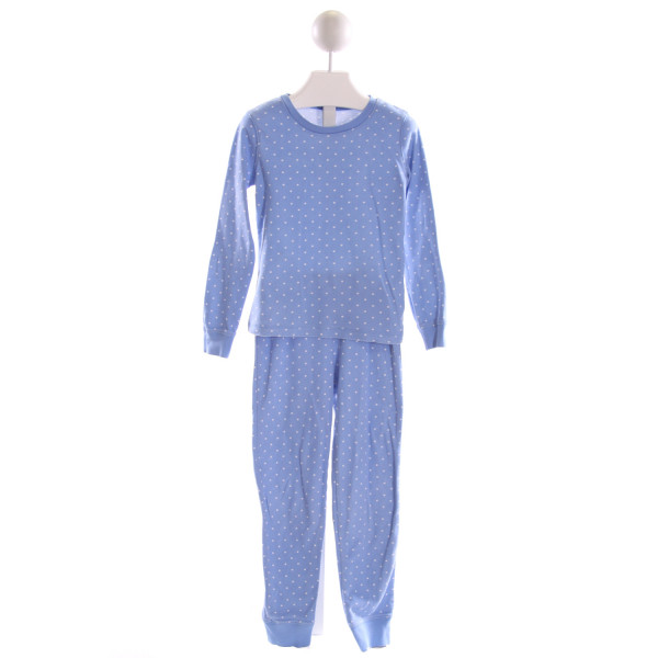MINI BODEN  LT BLUE  POLKA DOT  2-PIECE OUTFIT