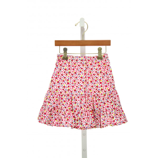 LITTLE LAUNDRY KATHRYN SKIRT IN BRIGHT PINK FLORAL CORD