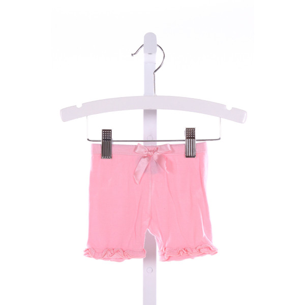 KICKEE PANTS  PINK    SHORTS WITH RUFFLE