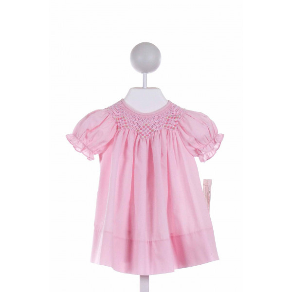 ROSALINA  PINK   SMOCKED DRESS
