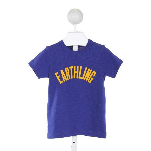 CREWCUTS  BLUE   PRINTED DESIGN T-SHIRT
