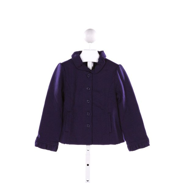 JANIE AND JACK  ROYAL BLUE    DRESSY OUTERWEAR WITH RUFFLE