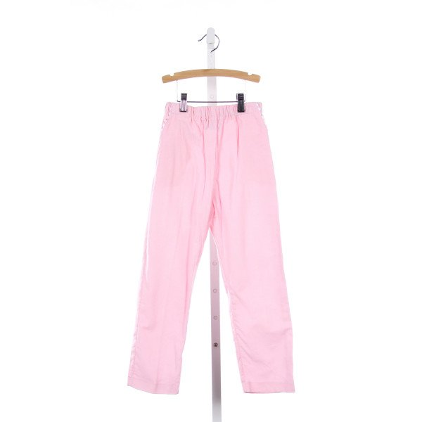 THE PLANTATION SHOP PINK CORD PANTS WITH WHITE RIC-RAC *NWOT