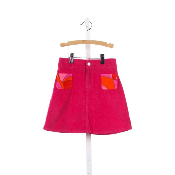 HOLLYWOOD BABY PINK CORD SKIRT WITH POCKETS