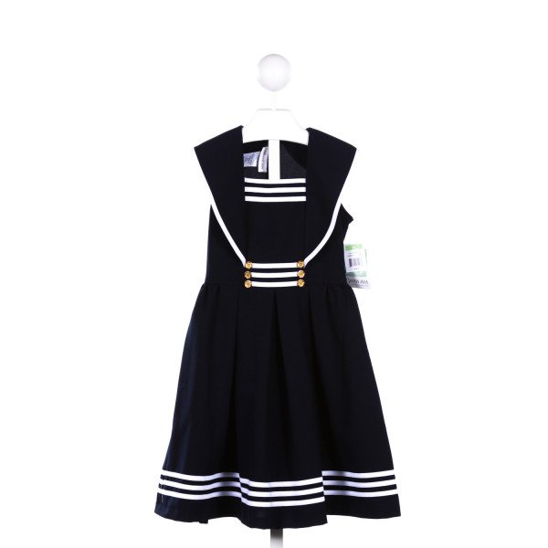 BONNIE JEAN  NAVY    CASUAL DRESS