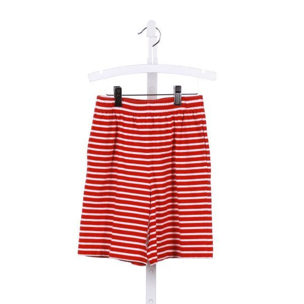 KELLY'S KIDS  RED KNIT STRIPED  SHORTS