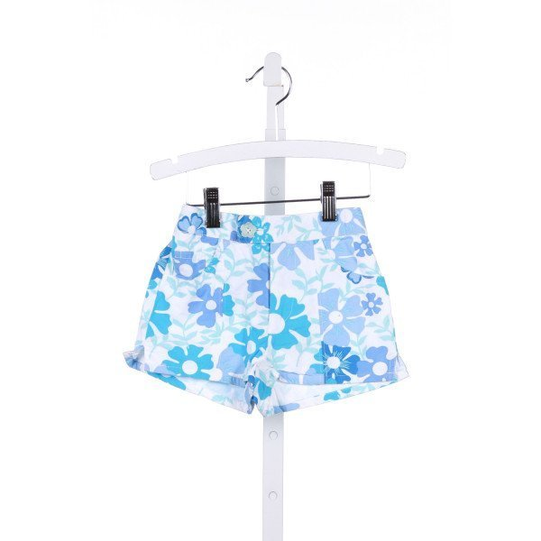BEST & CO.  BLUE  FLORAL  SHORTS