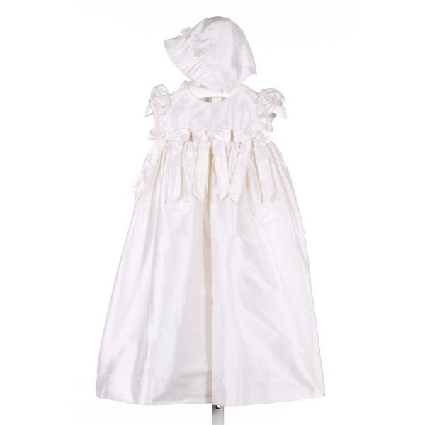SIMI BABY  IVORY SILK   PARTY DRESS