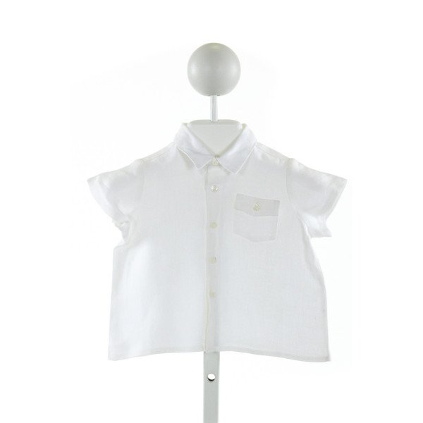 BONPOINT  IVORY    CLOTH SS SHIRT