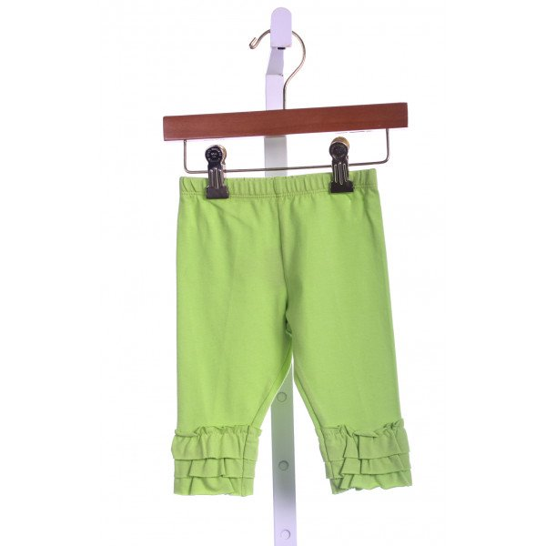 KELLYS KIDS LIME GREEN RUFFLE PANT (NEW)