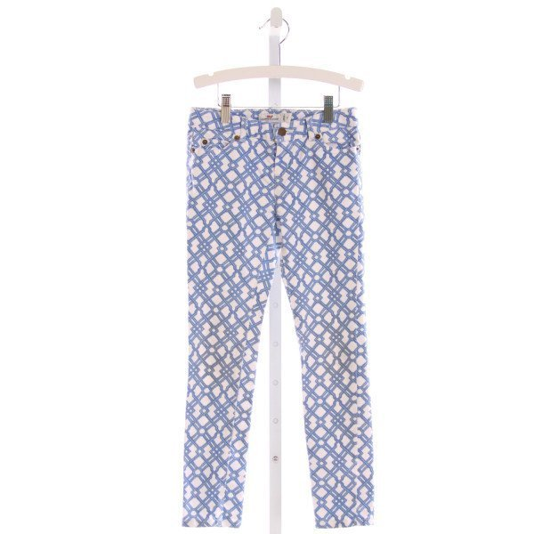 VINEYARD VINES  BLUE   PRINTED DESIGN PANTS