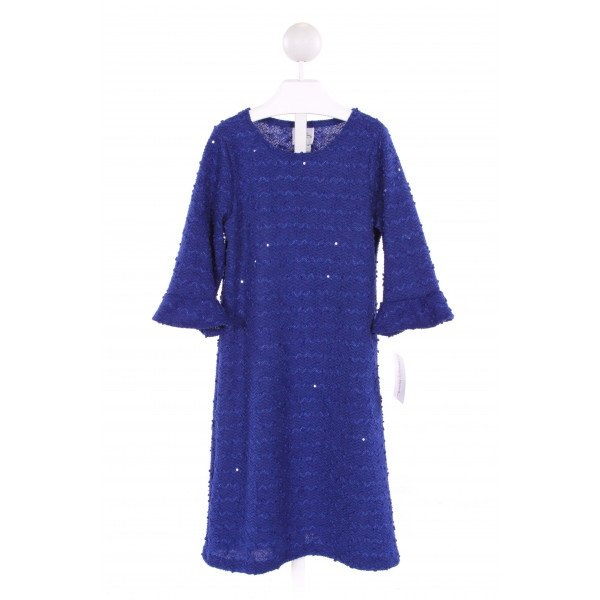 MAGGIE BREEN  BLUE   SEQUINED DRESS
