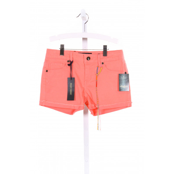 LUCKY BRAND  CORAL PINK    SHORTS