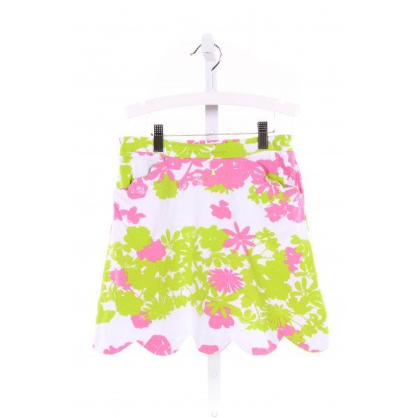 THREE FRIENDS  MULTI-COLOR  FLORAL  SKORT